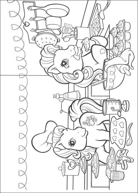 Mon petit poney Coloriages à Imprimer Colorier ...