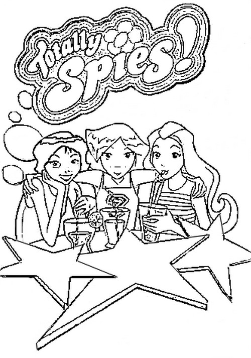 Totally spies coloriages imprimer colorier - Totally spies coloriage ...